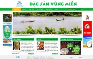 Mẫu web anthinhfood.vn