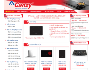 Mẫu web canzymienbac.com.vn