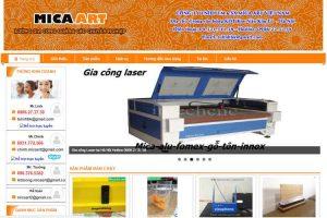 Mẫu web catmica.net