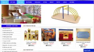 Mẫu web dochoingoainhap.com.vn