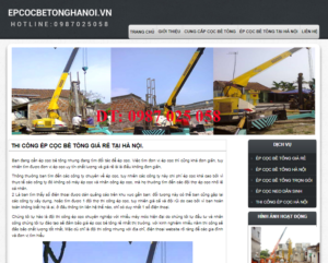 Mẫu web epcocbetonghanoi.vn