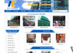 Mẫu web giangiaoantoan.com
