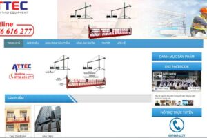 Mẫu web giaotreogondola.com.vn