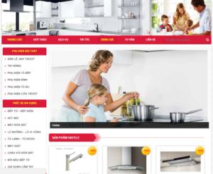 Mẫu web hafele-home.com.vn