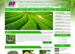 Mẫu web haiduongco-supertea.com.vn