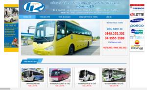 Mẫu web hoankiemtransport.com.vn