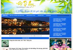 Mẫu web hoclamnguoi.edu.vn