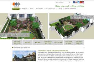 Mẫu web houseworld.vn
