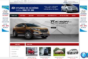 Mẫu web hyundaihadong.net.vn