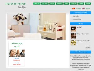 Mẫu web indochinehairspa.com
