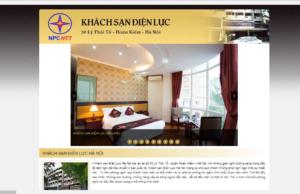 Mẫu web khachsandienluc.com