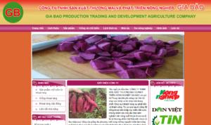 Mẫu web khoailanggiabao.com.vn