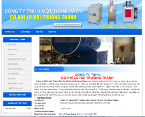 Mẫu web lohoitruongthanh.com