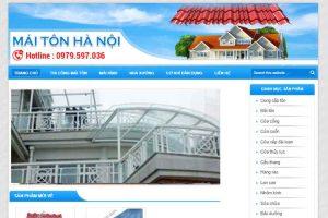 Mẫu web maitonhanoi.com