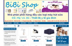 Mẫu web mayhutsua24.com