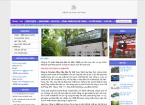 Mẫu web nhathepviet.com.vn