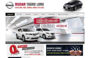 Mẫu web nissanmydinh.com