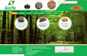 Mẫu web senhowoodpellets.vn