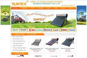 Mẫu web sunrex.com.vn