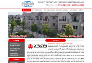 Mẫu web thanglongxingfa.com.vn