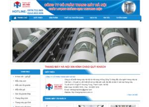 Mẫu web thangmayhanoi.com.vn