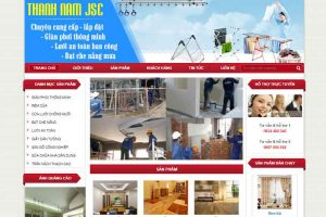 Mẫu web thanhnamjsc.com