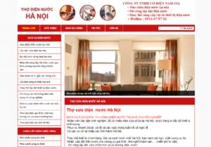 Mẫu web thodiennuochn.com