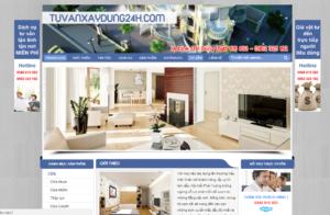 Mẫu web tuvanxaydung24h.com