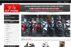 Mẫu web xemayduyphong.com