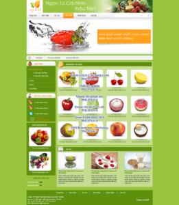 Mẫu website Agri VH demo 2-TYC