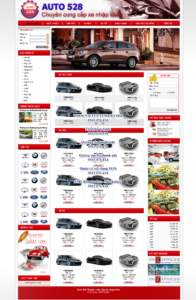 Mẫu website Auto 528-TYC