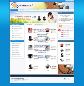 Mẫu website Digitechjsc-TYC