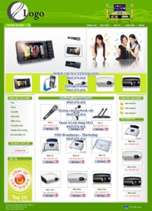 Mẫu website Điện tử Tuyết Huy -TYC