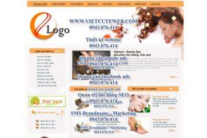 Mẫu website Glamour demo 2 -TYC