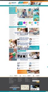 Mẫu website Kế toán-TU