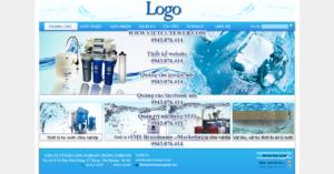 Mẫu website Lọc nước Thiên Sơn-TYC