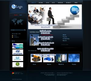 Mẫu website Machinco 2-TYC