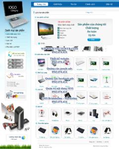 Mẫu website Máy tính Anh Trung demo 2 -TYC
