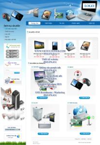 Mẫu website Máy tính Anh Trung demo 1 -TYC
