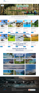 Mẫu website Viet Nam Travel Group- TU