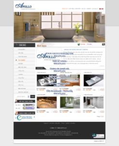 Mẫu website Apolo demo 3-TYC