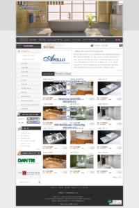 Mẫu website Apolo demo 1-TYC