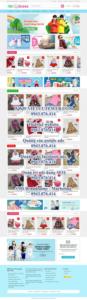Mẫu website Baby shop – TU