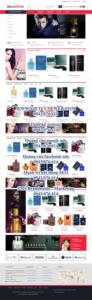 Mẫu website Bala Shop – TU