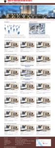 Mẫu website Bảo vệ-TU