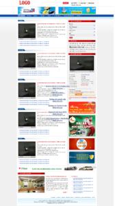 Mẫu website Bất động sản Logo-TYC
