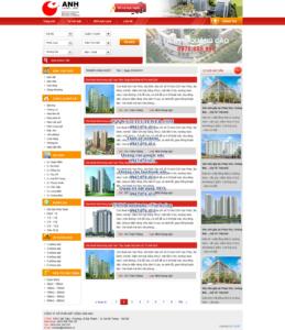 Mẫu website Bất động sản Anh demo 3-TYC