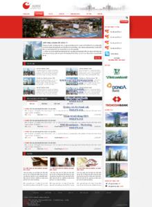 Mẫu website Bất động sản Anh demo 2-TYC