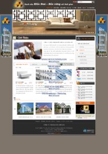 Mẫu website Block Kiến Hòa-TYC