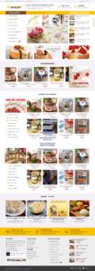 Mẫu website Cake ong vàng-TU
